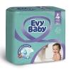 Подгузники Evy Baby 4 (7-18кг) 24шт
