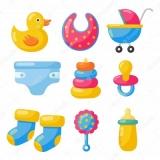 Детские игрушки и принадлежности