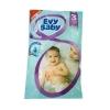 Подгузники Evy baby №3 (5-9кг) 4шт