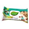 Детские влажные салфетки Natural Fresh 72шт