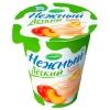 Йогурт Campina Нежный и легкий с соком персика 0,1% 320г